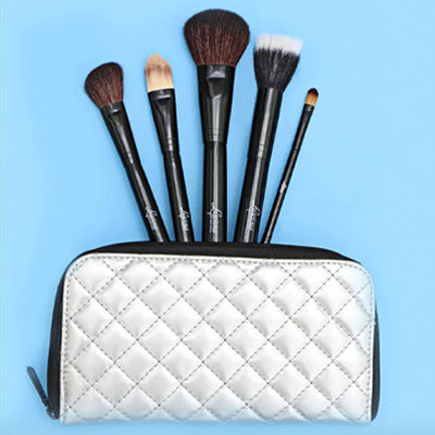 LUSCIOUS ULTIMATE FACE CASE 5PC BRUSH SET