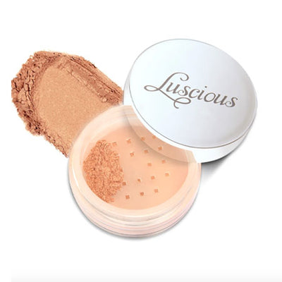 LUSCIOUS SPARKLING FACE SHIMMER GILDED PEACH