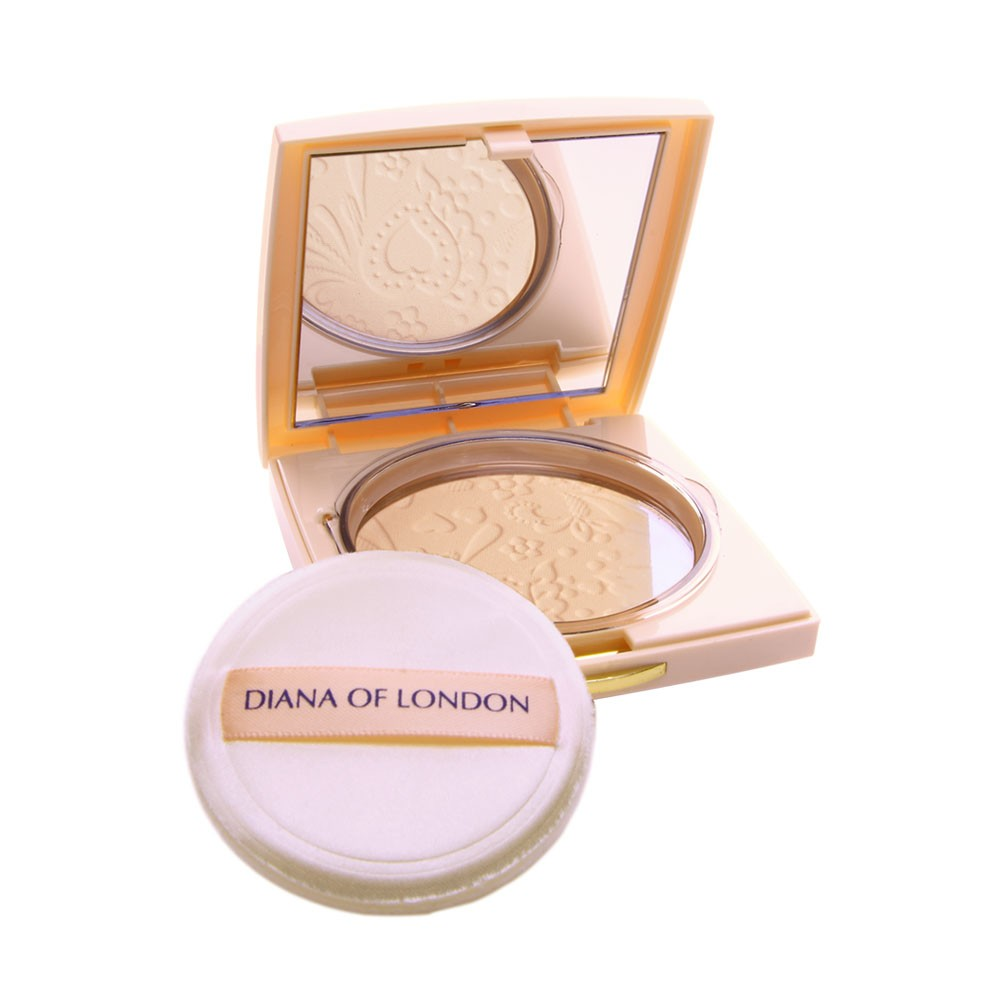 DIANA OF LONDON ABSOLUTE STAY COMPACT POWDER PURE ROSE