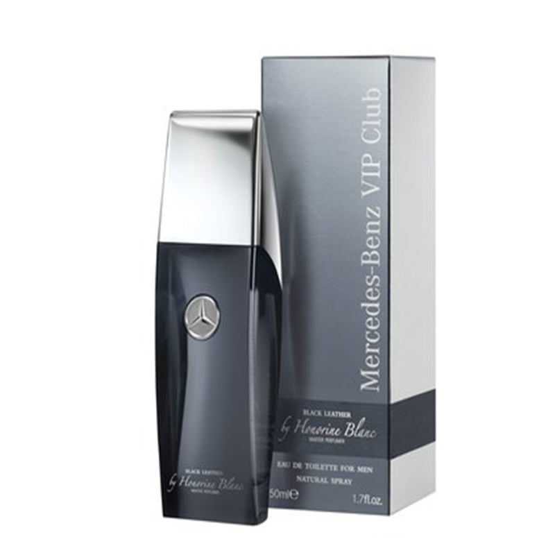MERCEDES VIP CLUB BLACK LEATHER EDT 100 ML