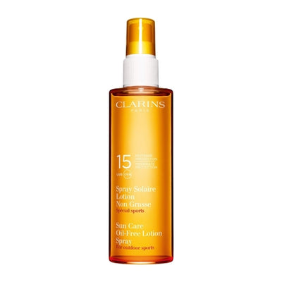 Clarins Sun Care Oil-Free Lotion Spray Moderate Protection UVB/UVA 15, 150 ML