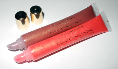 Clarins 09 Pink Jaipur Colour Quench Lip Balm Long Lasting Moisture&Shine