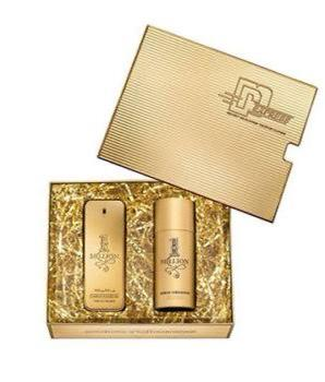 Paco Rabanne 1 Million EDT Perfume 100ml & Body Spray 150ml