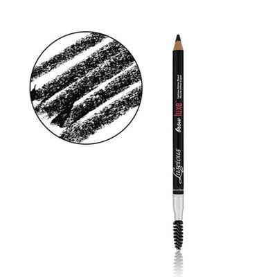 LUXE EYEBROW DEFINER PENCIL NATURAL BLACK #1