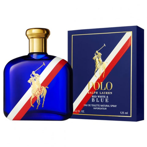 RALPH LAUREN POLO RED WHITE AND BLUE EDT 125ML