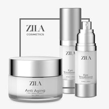 ZILADERM ANTI AGING FACE CREAM COMPLEX AND ZILA EYE SERUM TREATMENT