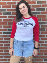 Locally Caffeinating Baseball Tee