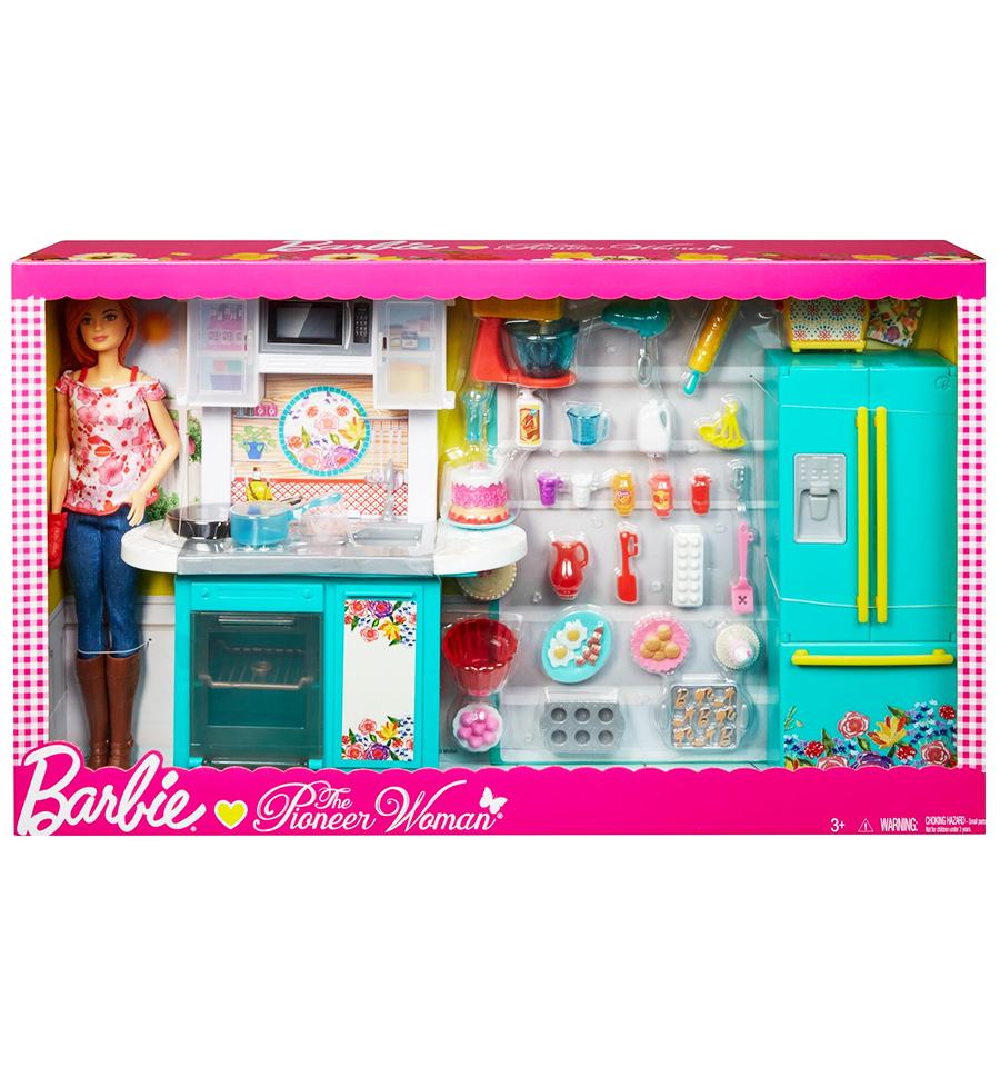 Barbie As Pioneer Woman With Ree Drummond Doll Kitchen