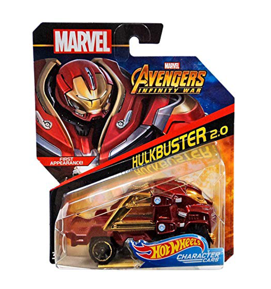 MARVEL Avengers Infinity War STAR-LORD HOTWHEELS Character Car 1:64