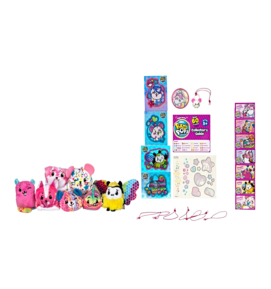 Pikmi Pops Mega Pack Marshmallow Lollipops Candy Many Surprises Collectors Girls