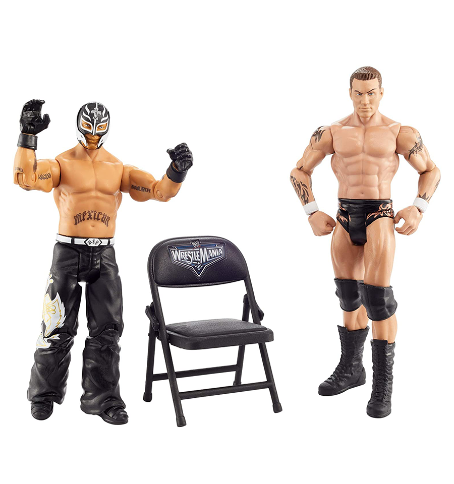 WWE Wrestlemania Rey Mysterio & Randy Orton, Action ...