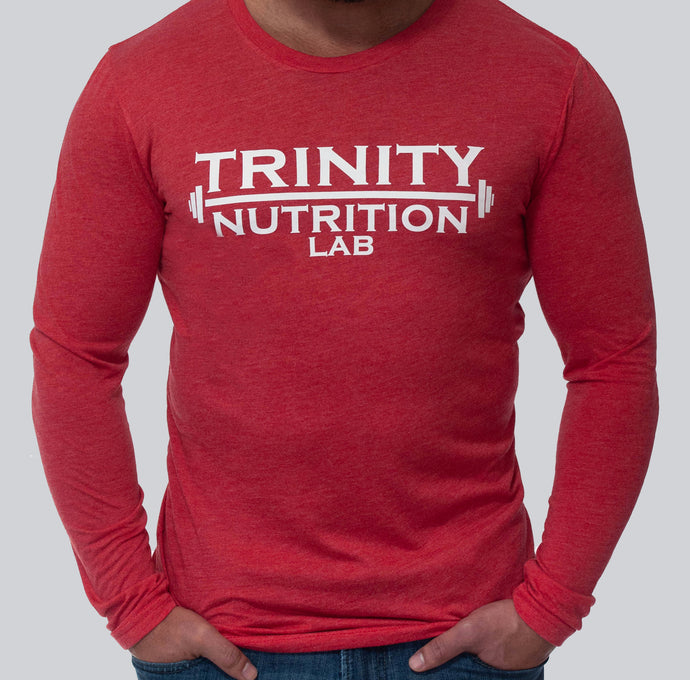 Fitted Long Sleeve Crew Neck - Trinity Nutrition Lab