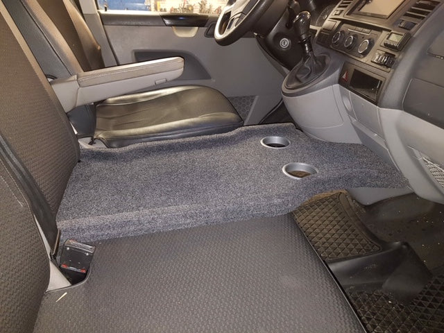 SeatShelf T5 Standard Bench Seat (Anthracite Grey) for Left-hand Drive