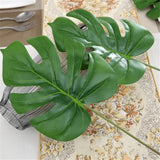 1Piece large Artificial Monstera palm tree Leaf
