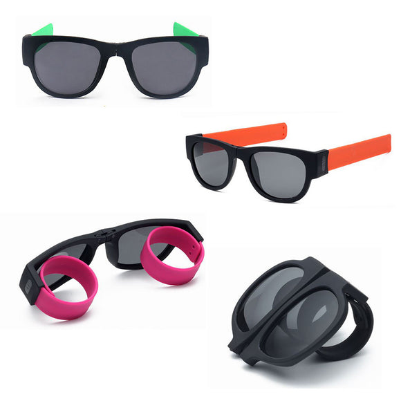 Unisex UV400 Polarized Folding Bracelet Sunglasses