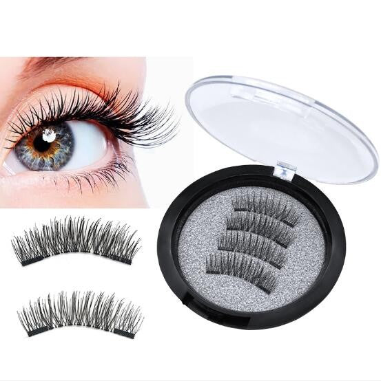Natural Looking False Magnetic Eyelashes