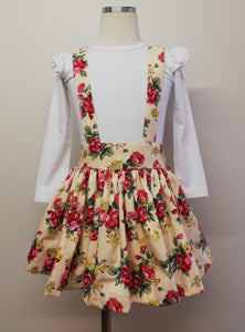 Christmas Suspender Skirt