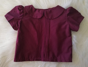Pleated Blouse Size 1