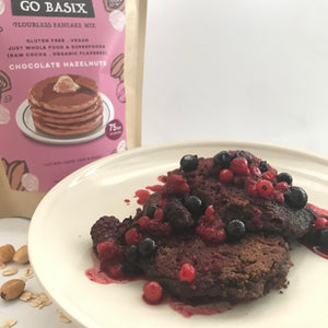 TRIAL VARIETY FLOURLESS PANCAKE MIX: Pack-of-3x105g
