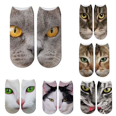 cotton socks cat