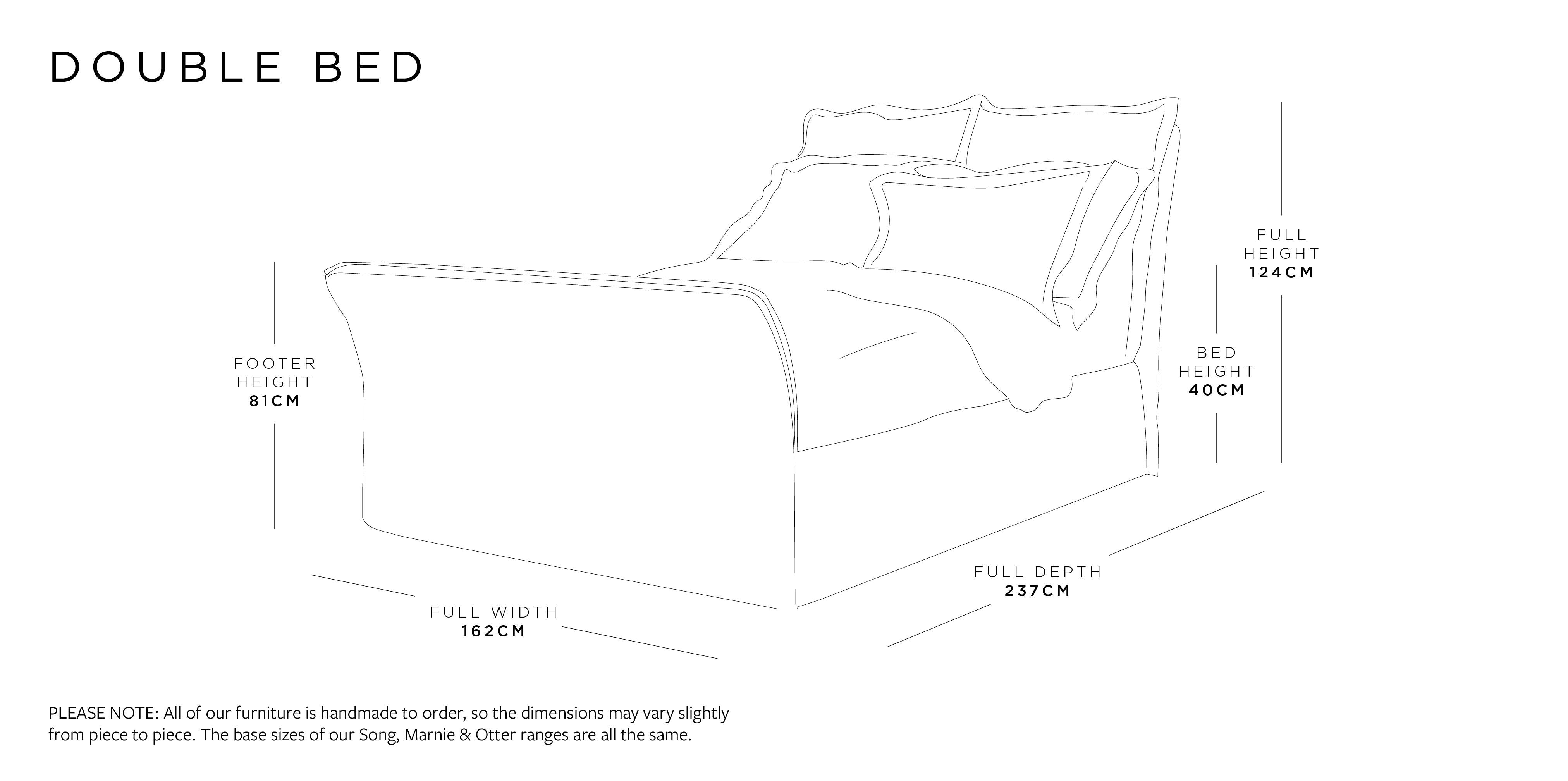 Double Bed Dimensions