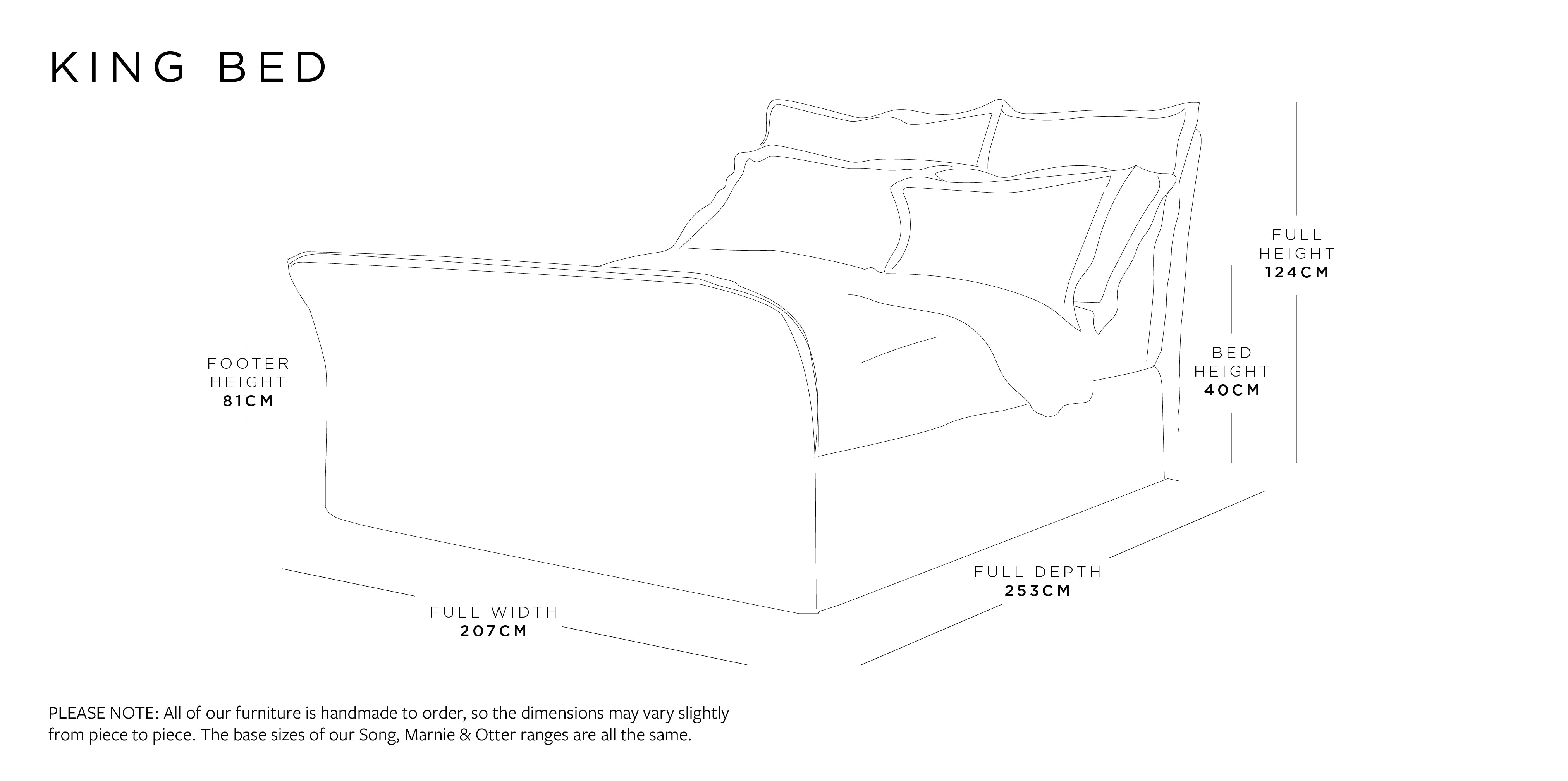 King Bed Dimensions