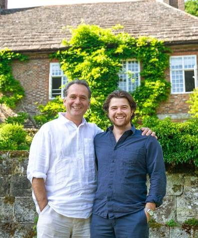 Maker&Son Founders Alex Wilcock and Felix Conran at Kemps House
