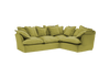 Long Pile Velvet Song 2X3M Left Corner Sofa additional cover