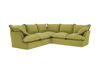 Long Pile Velvet Song 3X3M Corner Sofa