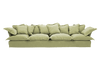 Long Pile Velvet Song Extra Large Sofa