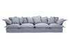 Linen Cotton Song Extra Large Sofa