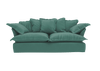 Short Pile Velvet Song Standard Sofa