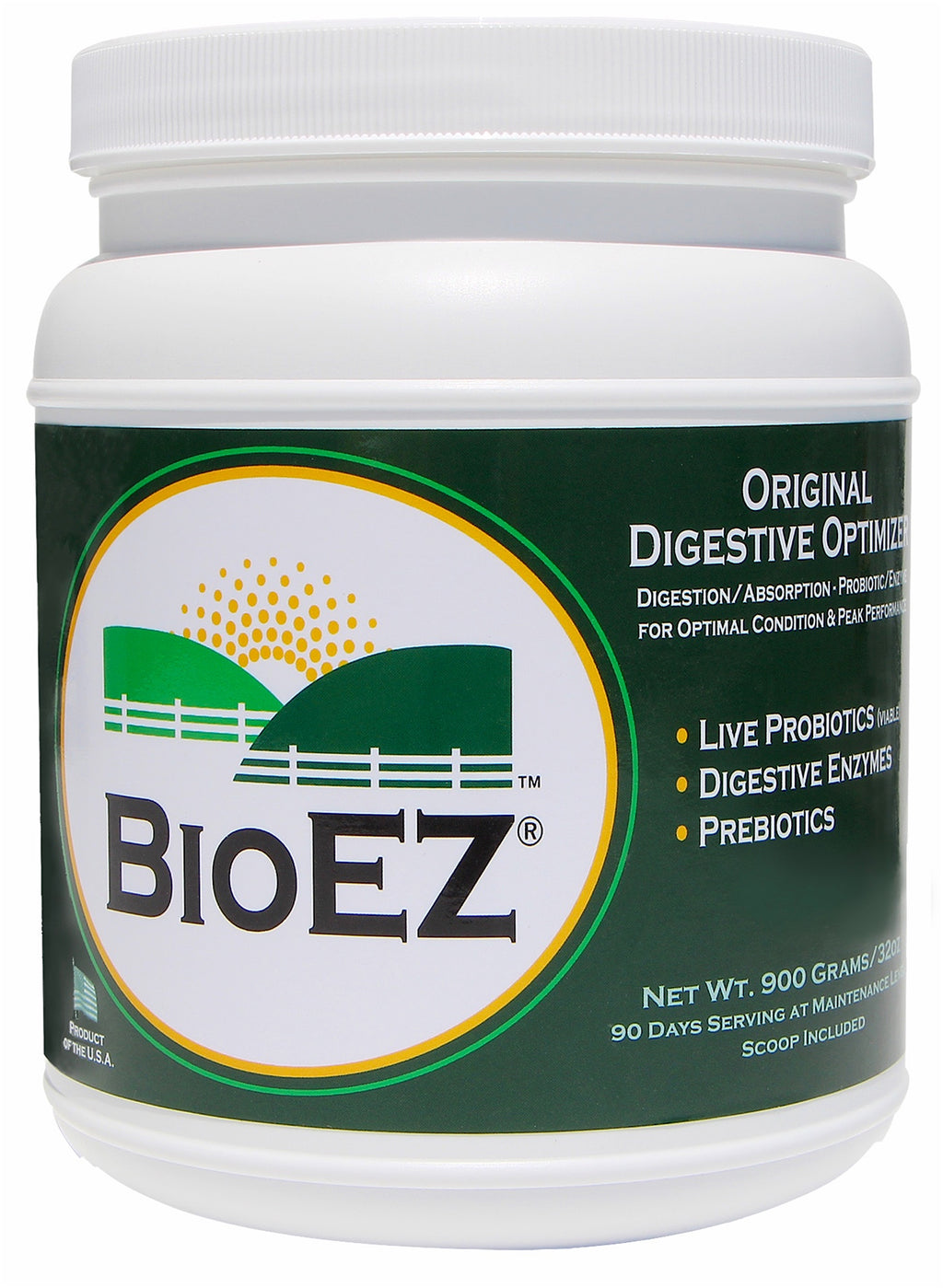 BioEZ® Digestive Optimizer 90 Serving