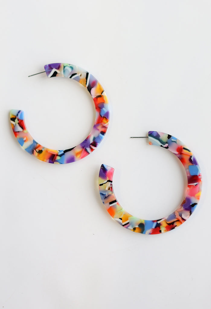 Phoenix Hoop Earrings