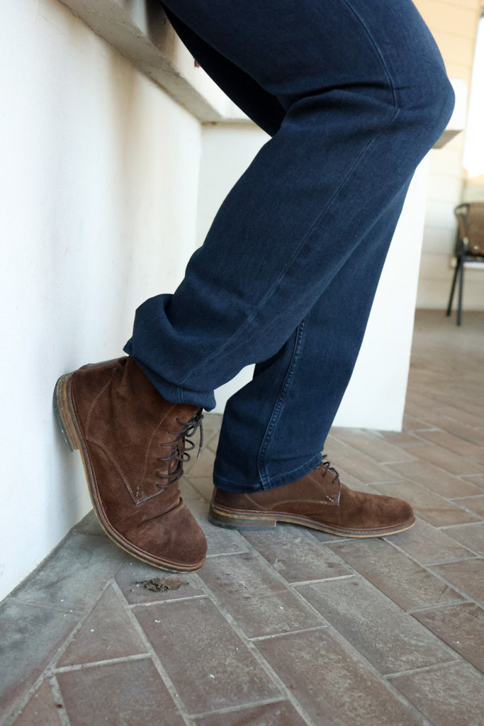 Ned Brown Suede Boot - RUST & Co.