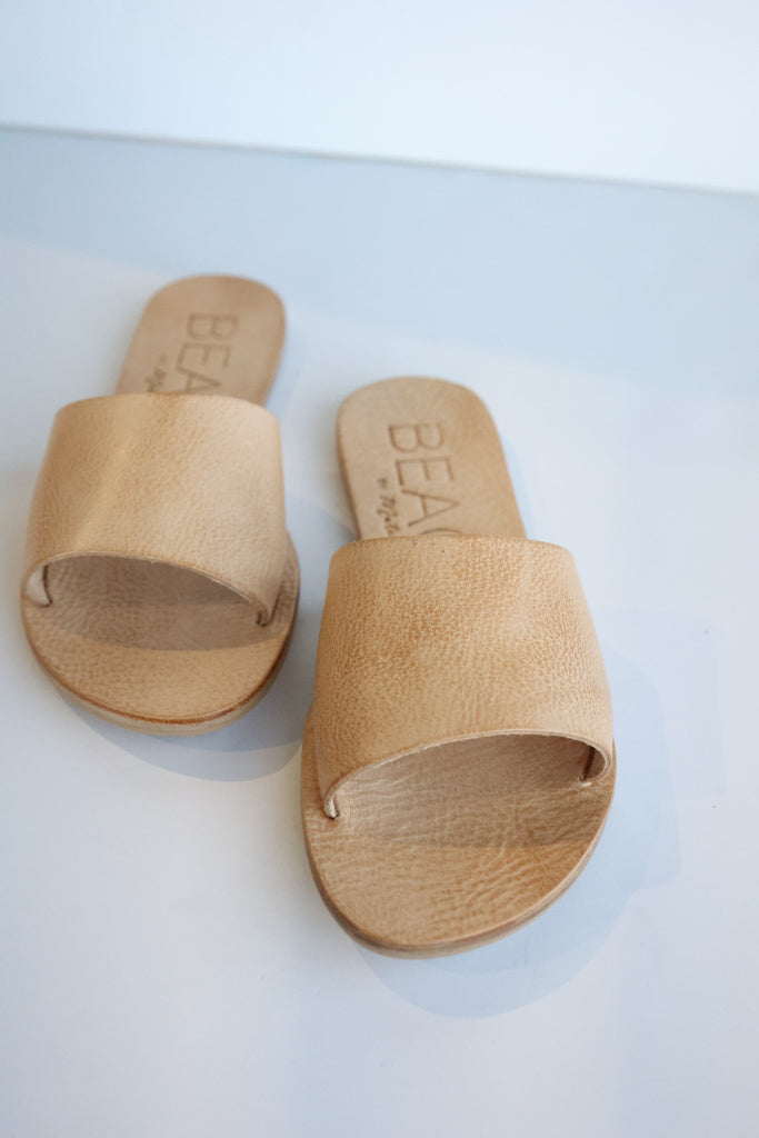 Carmen Leather Slide