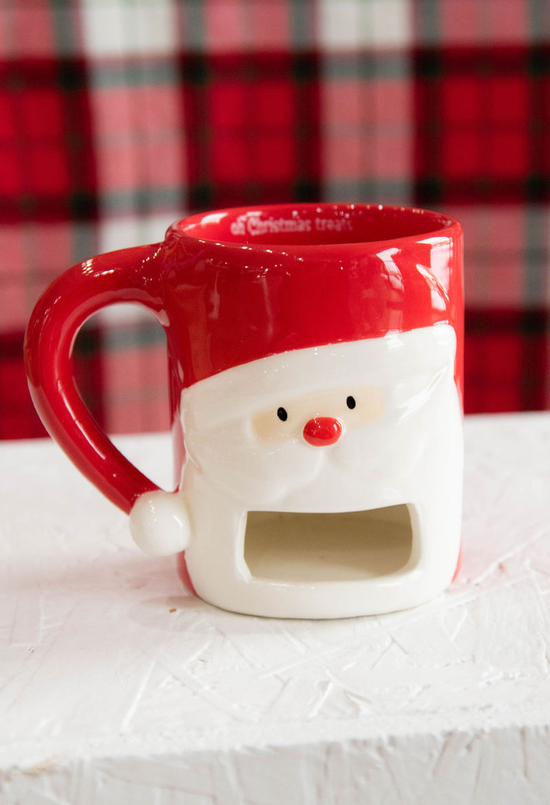 Christmas Cookie Holder Mugs