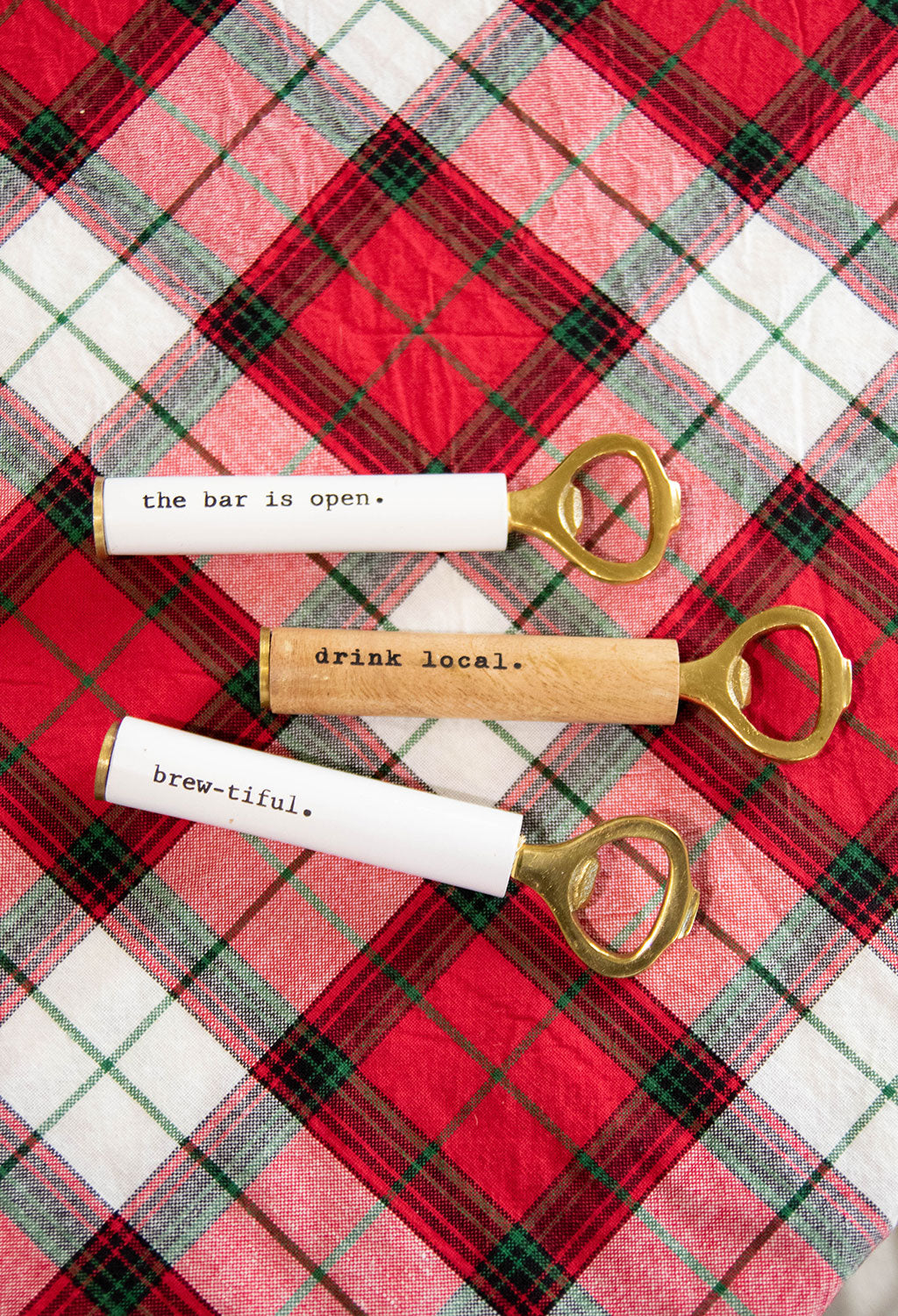 Sentiment Bottle Openers