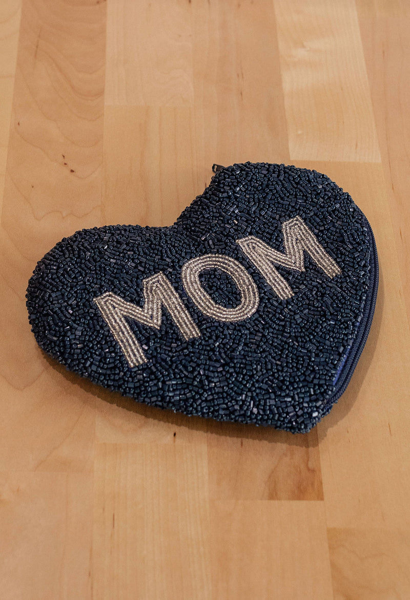 Mom Heart Pouch - RUST & Co.