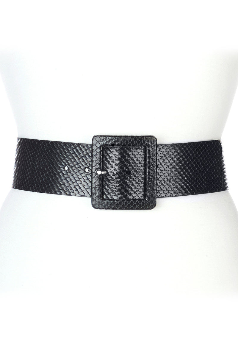 Dansi Black Snake Belt
