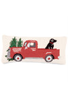 Red Truck w/ Dog Pillow - RUST & Co.