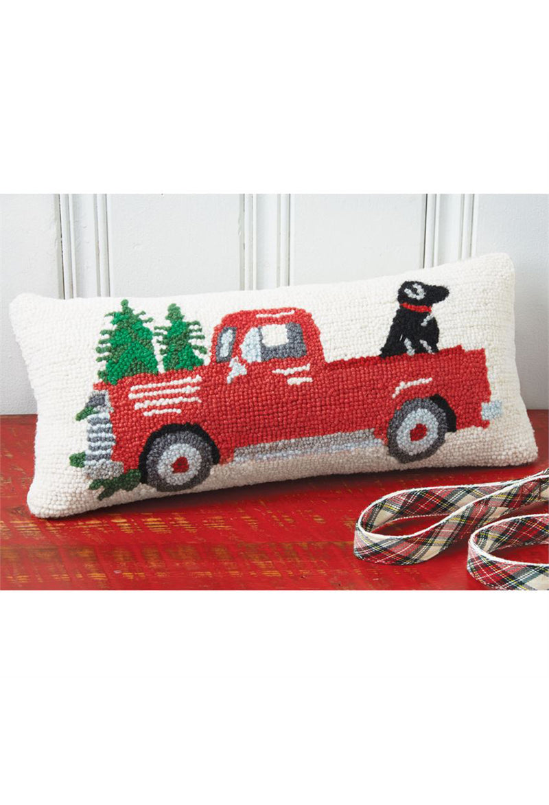 Red Truck w/ Dog Pillow