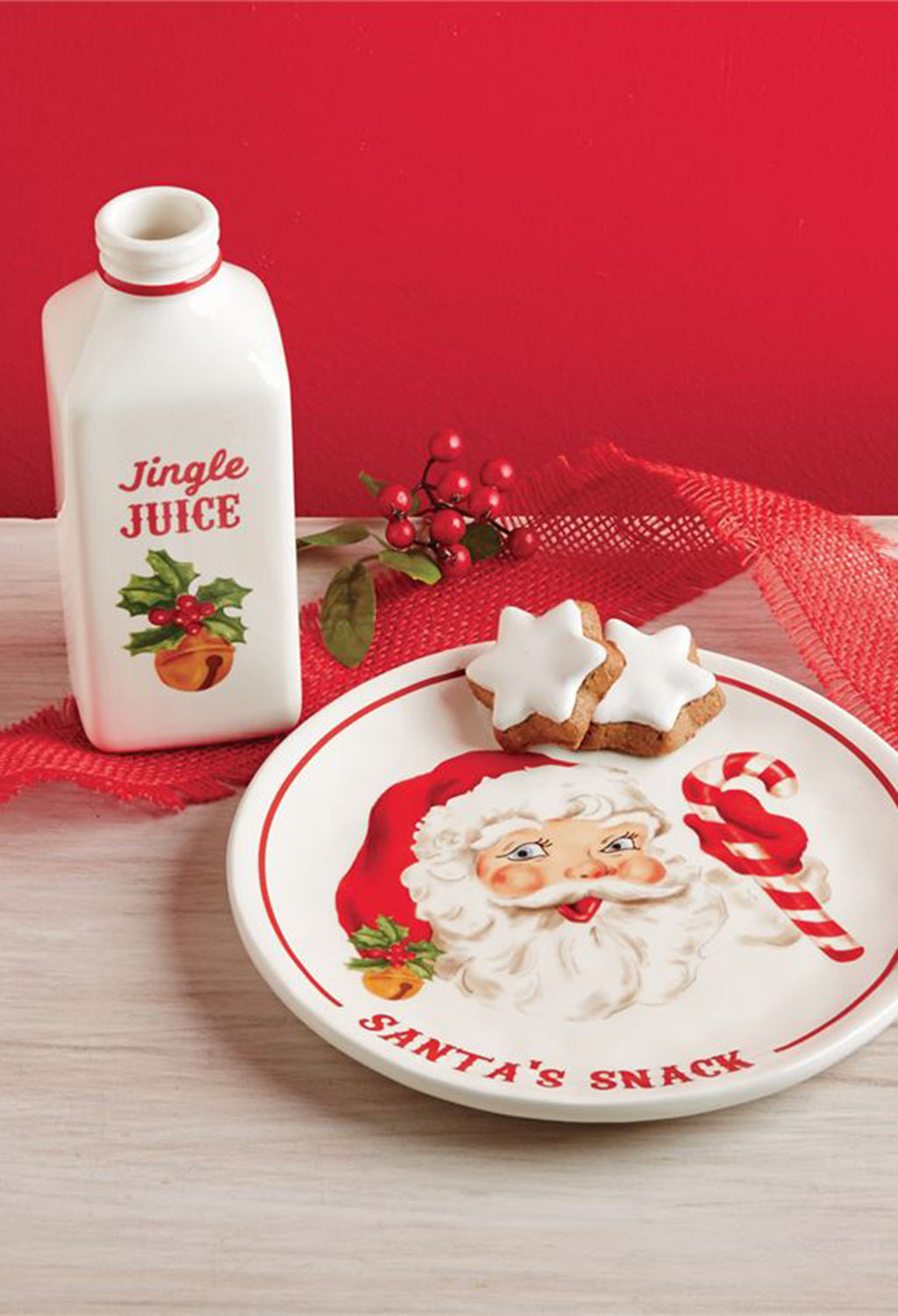 Santa Milk & Cookie Set