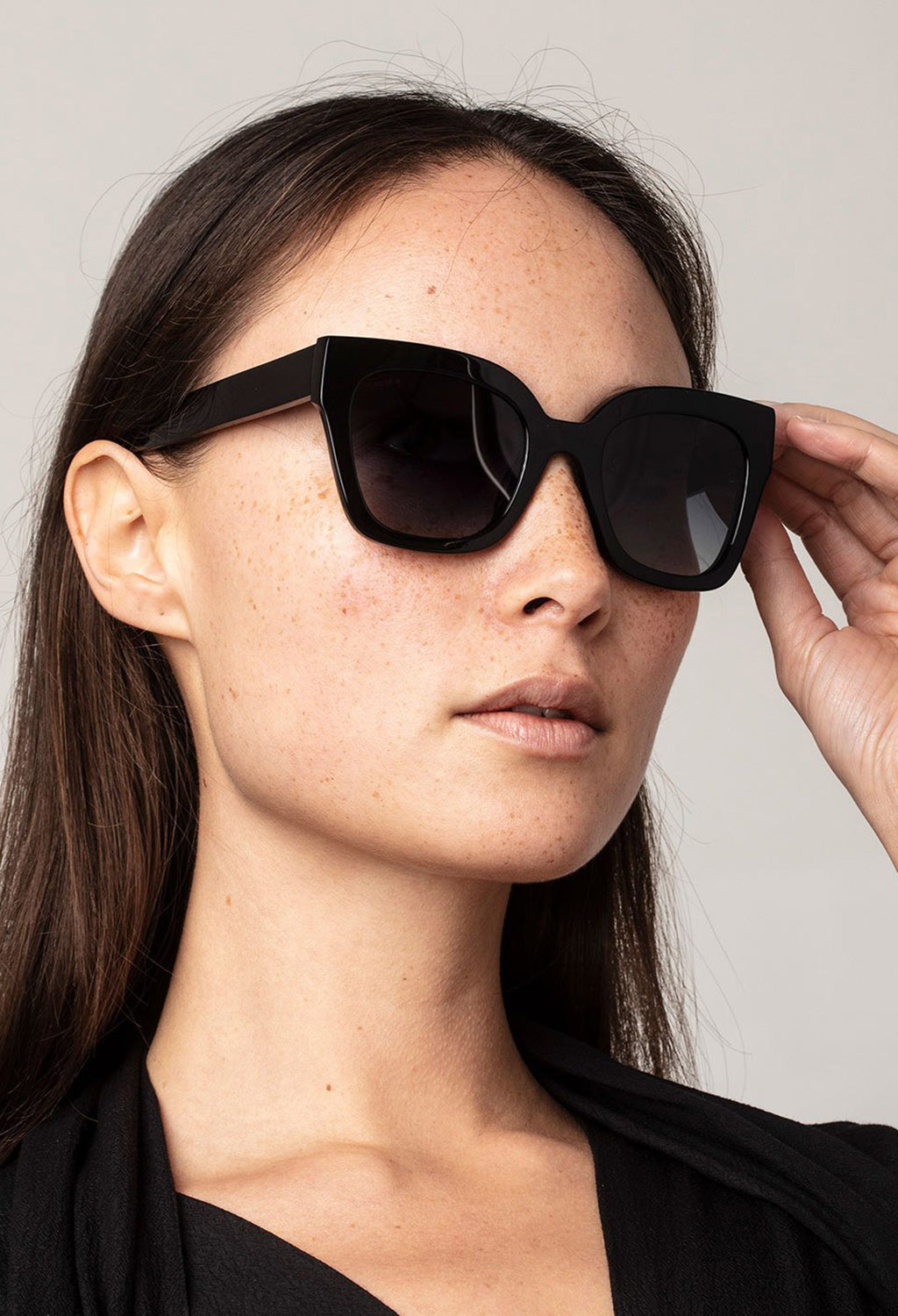 Pilgrim Sunglasses, Gemma Black