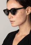 Pilgrim Sunglasses, Tamara Black - RUST & Co.