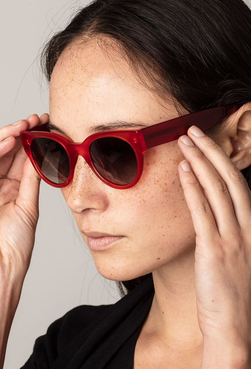 Pilgrim Sunglasses, Mali Red