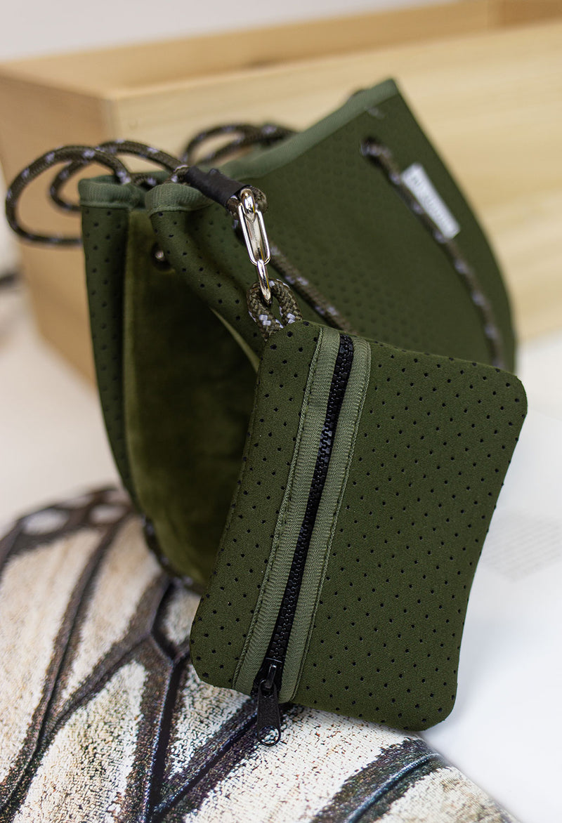 Mini Army Neoprene Bag