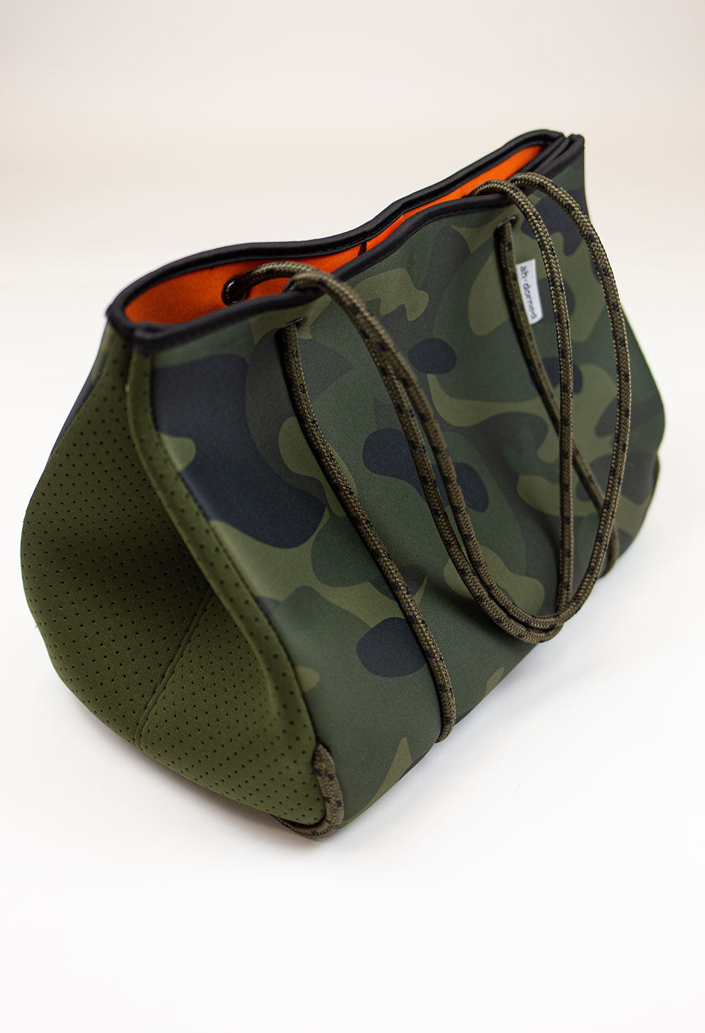 Army Camo w/ Army Perforated Sides Tote