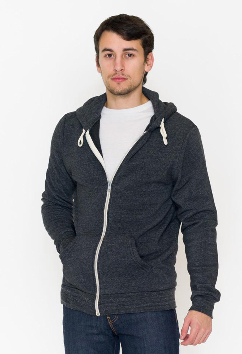 Alternative Rocky Eco Fleece Zip Hoodie