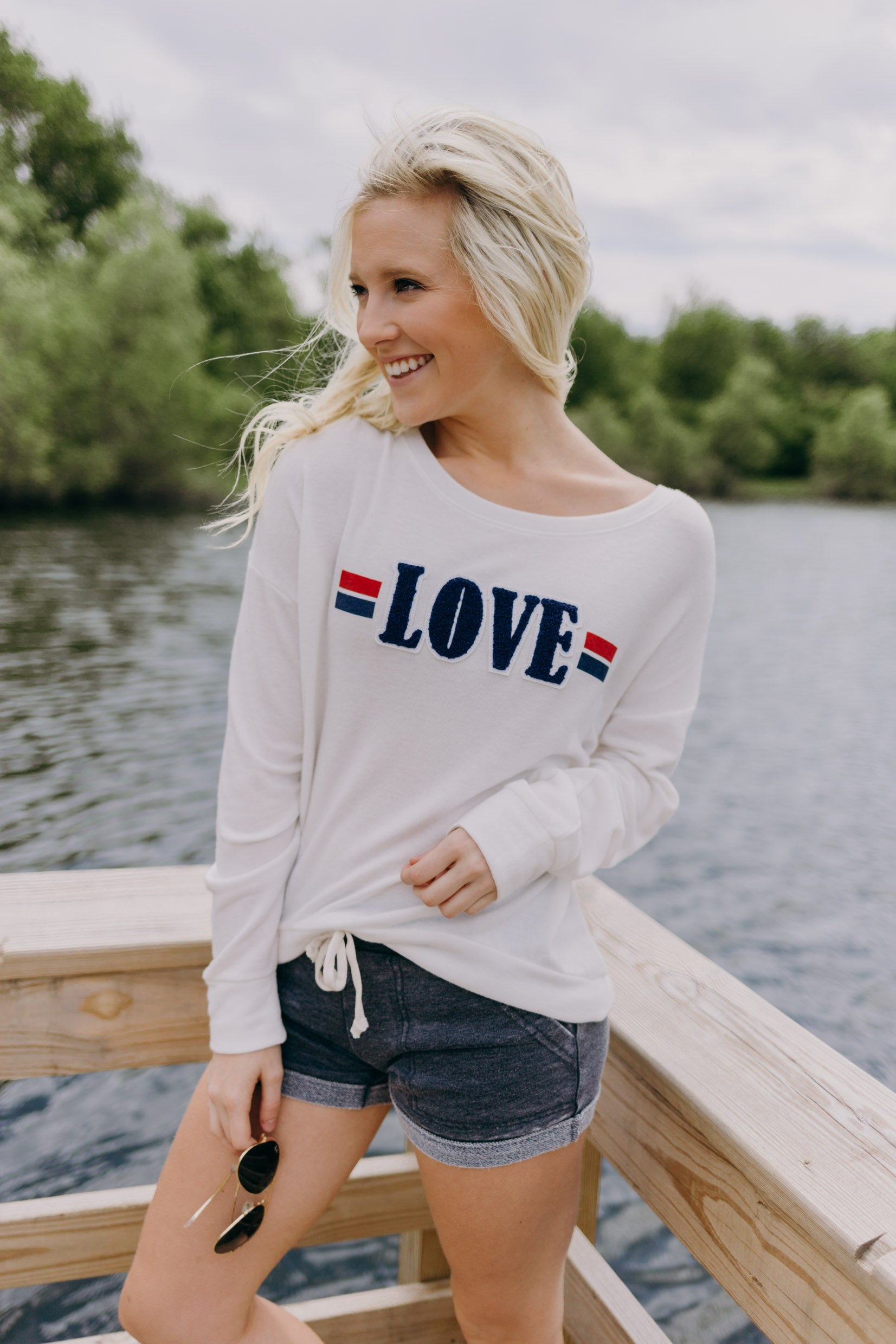 PJ Salvage Love Sweatshirt